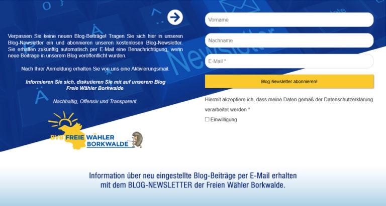 Blog Borkwalde
