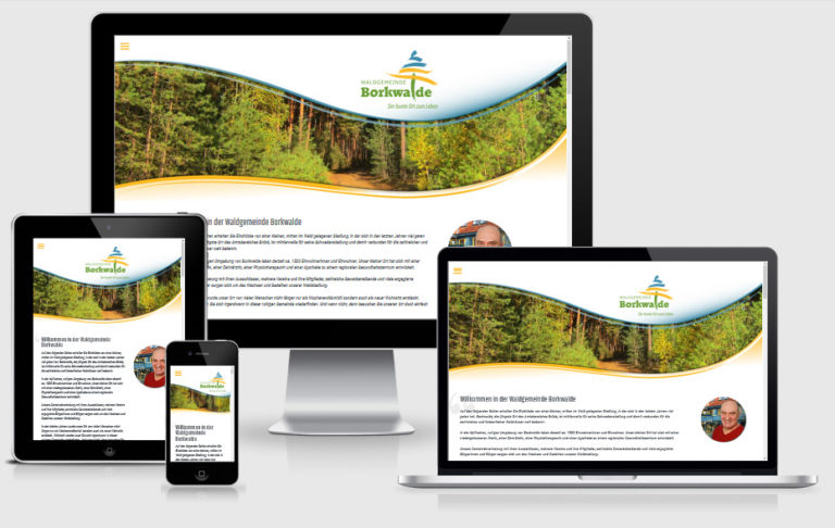 neue Webseite Borkwalde